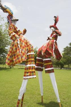 Moko Jumbies in St. Croix by Macduff Everton