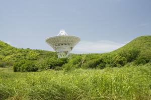 Radio Telescope near Point Udall, St. Croix by Macduff Everton