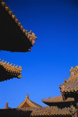 Roofs of Buildings in the Forbidden City by Macduff Everton