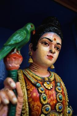 Statue in Hindu Temple by Macduff Everton