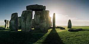 Stonehenge at Sunrise, Looking East by Macduff Everton