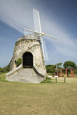 Sugar Mill at Estate Whim in St. Croix by Macduff Everton