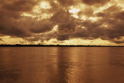Sunset on the Amazon River by Macduff Everton