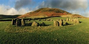 Swinside Stone Circle, a Bronze Age Stone Circle of 55 Stones Set in a 90 Foot Diameter Circle by Macduff Everton