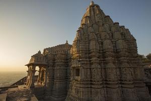 The 11th C. Samdhishvara Temple to Siva at Chittaurgarh Fort by Macduff Everton