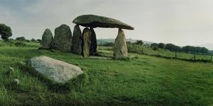 The Dolmen of Pentre Ifan, the Remains of a Neolithic Burial Chamber by Macduff Everton