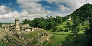 The Palenque Palace Complex with the Observation Tower Clearly Visible by Macduff Everton