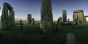 The Standing Stones of Stonehenge by Macduff Everton
