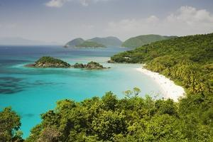 Trunk Bay at St. John Island in U. S. Virgin Islands by Macduff Everton