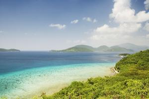 View across Narrows from St. John to the British Virgin Islands by Macduff Everton