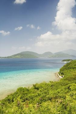 View from St. John to the British Virgin Islands by Macduff Everton