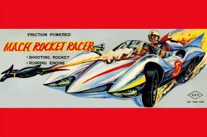Mach Rocket Racer