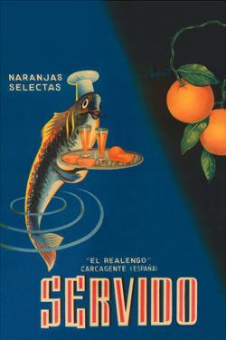 Servido Selected Oranges by Machirart