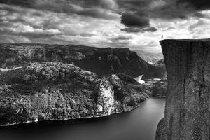 At the Edge by Maciej Duczynski