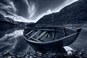 Boats a shadow by Maciej Duczynski