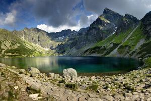 Mountain Lake by Maciej Duczynski