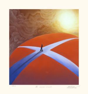 A Crossroads by Mackenzie Thorpe