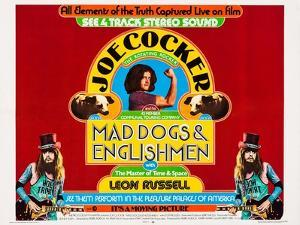 Mad Dogs and Englishmen, Center: Joe Cocker; Bottom Left and Right: Leon Russell, 1971