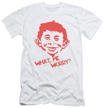 Mad Magazine - What Me Worry (slim fit)