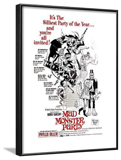 Mad Monster Party, 1967--Framed Photo