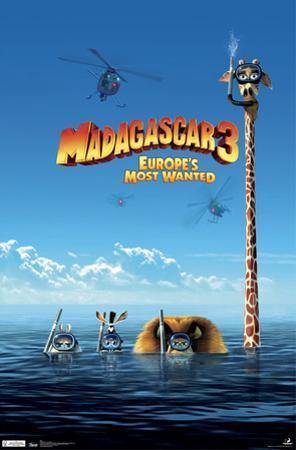Madagascar 3 - One Sheet