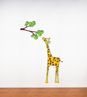Madam Giraffe Wall Decal