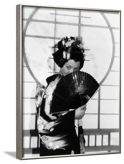 Madame Butterfly, Sylvia Sidney, 1932--Framed Photo