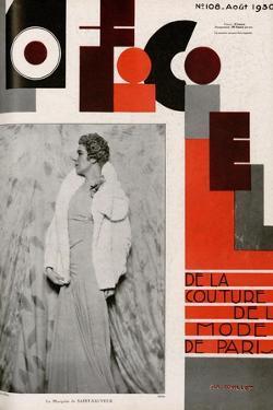 L'Officiel, April 1930 - Mme Suzanne Talbot by Madame D'Ora & A.P. Covillot