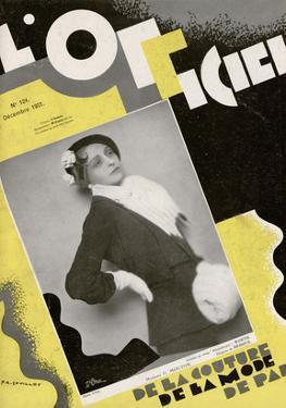 L'Officiel, December 1931 - Madame G. Mouton by Madame D'Ora & A.P. Covillot