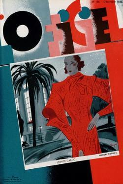 L'Officiel, June 1933 - Mle Jacqueline Shatelin by Madame D'Ora & A.P. Covillot