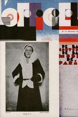 L'Officiel, October 1930 - Mme Louise Eisner by Madame D'Ora & A.P. Covillot