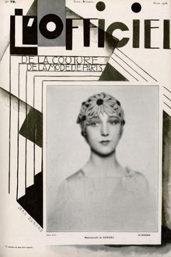 L'Officiel, February 1928 - Mme Agnès by Madame D'Ora & Jean Dunand
