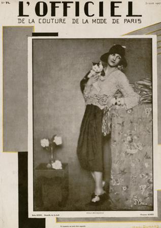 L'Officiel, July 1927 - Olga Puffkine
