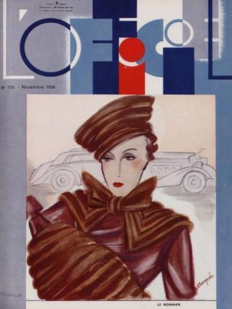L'Officiel, August 1934 - Mle de Korsak by Madame D'Ora
