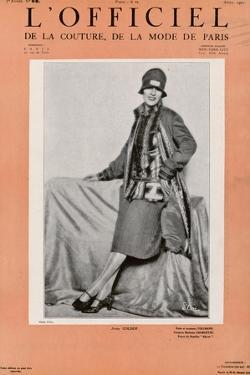 L'Officiel, January 1927 - Marjorie Moss en Robe de Worth by Madame D'Ora