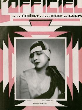 L'Officiel, July 1928 - Mlle Marcelle by Madame D'Ora