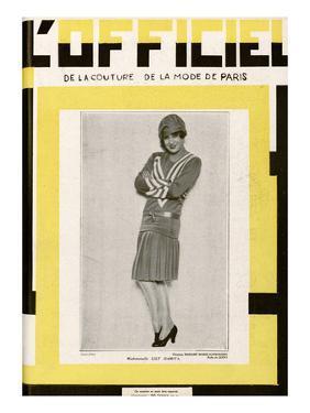 L'Officiel, June 1928 - Mlle Lily Damita by Madame D'Ora