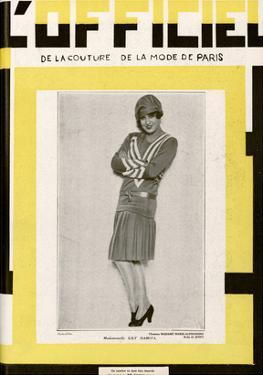 L'Officiel, June 1928 - Mlle Lily Damita by Madame D'Ora