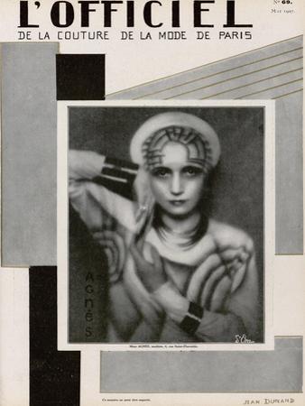 L'Officiel, May 1927 - Mme Agnès by Madame D'Ora