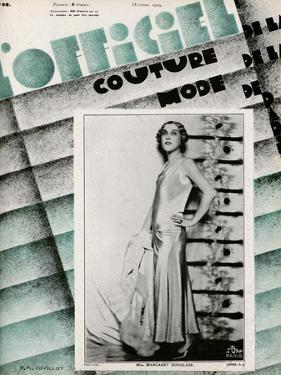L'Officiel, May 1929 - Mme Schaparelli by Madame D'Ora