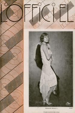 L'Officiel, September 1928 - Mme Emmy Lynn by Madame D'Ora