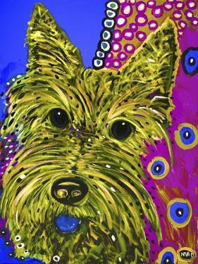 119 - Scottie Yellow by MADdogART