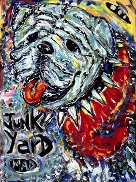 Junk Yard MAD Dog by MADdogART