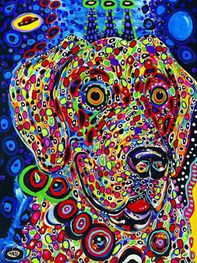 Moon Dog by MADdogART