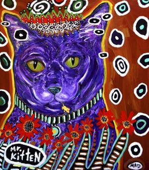 Mr Kitten by MADdogART