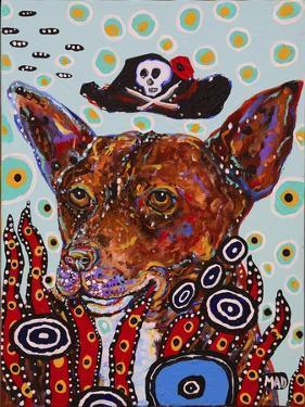 Pirate Dog by MADdogART