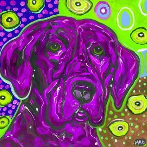 Purple Lab by MADdogART