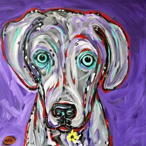 Purple Weim by MADdogART