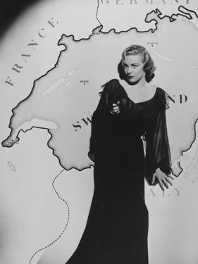 Madeleine Carroll, Secret Agent, 1936