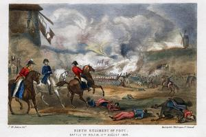 Ninth Regiment of Foot, Battle of Roleia, Portugal, 17th August 1808 by Madeley